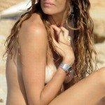 Alessia Fabiani topless in Formentera
