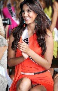 catalina robayo upskirt 193x300 Catalina Robayo Miss Colombia upskirt