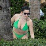 kelly brook bikini in miami