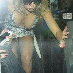 horgan wallace10 150x150 Aisleyne Horgan Wallace leaving Million Dollar Arm screening London 21 08 2014   pussy upskirt