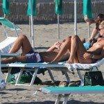 aviti4 150x150 Sveva Alviti topless at the beach