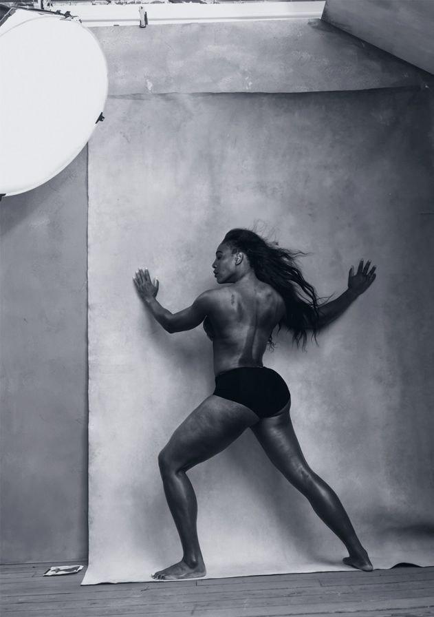 Topless photos of sarena william excited