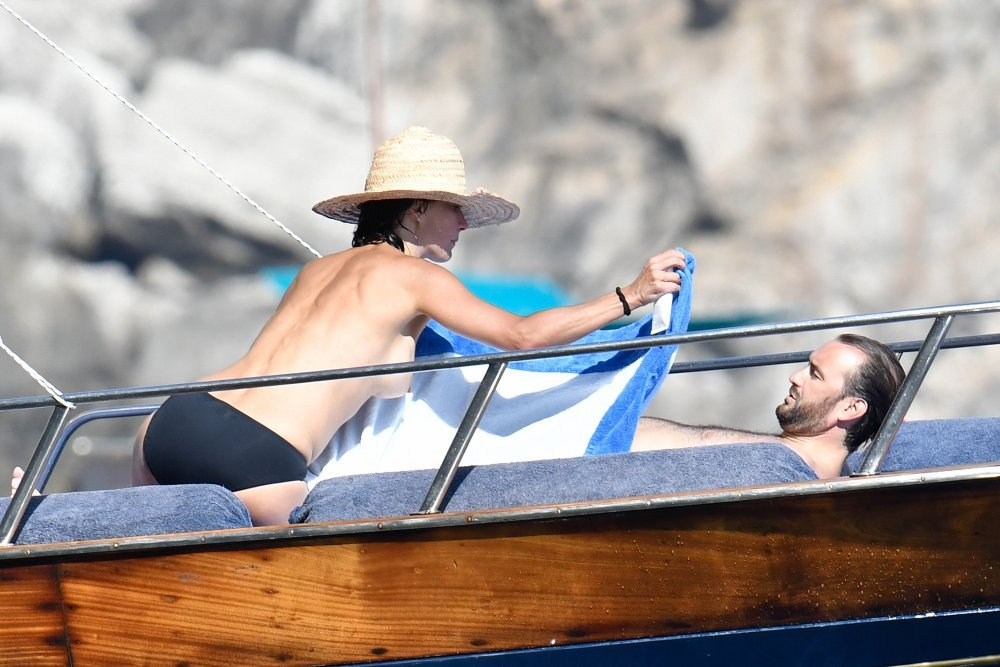 sophie marceau caught topless