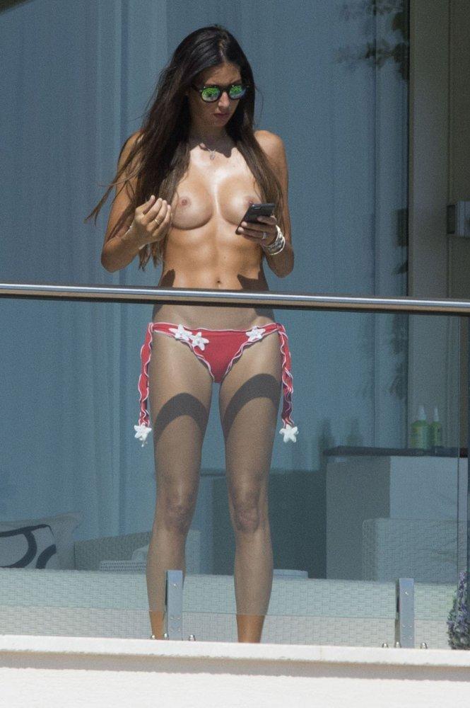 elisabetta gregoraci topless